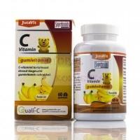Витамин С для детей желейные мишки Vitamin C Gumivitamin Jutavit 60 таб