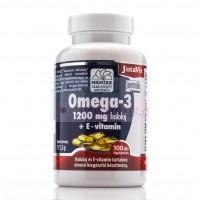 Омега -3, 1200мг +E витамин /Omega-3 1200 mg halolaj + E vitamin JutaVit / 40 таб