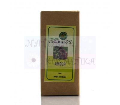 Аромамасло, Амбер, Natural Aroma Oil Vertiver Aditi Perfumery Co 10 мл