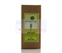 Аромамасло Ветивер Natural Aroma Oil Vertiver Aditi Perfumery Co10 мл