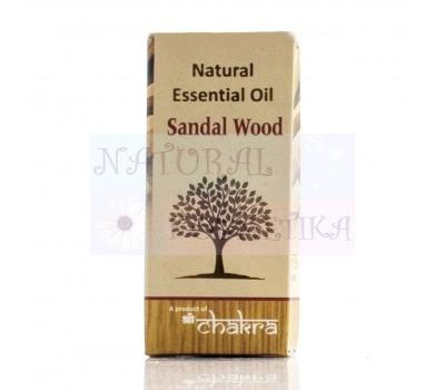 Натуральное эфирное масло,Лесной сандал  /Sandal Wood / Чакра / 10 ml