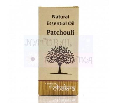 Натуральное эфирное масло, Пачули / Чакра / 10 ml