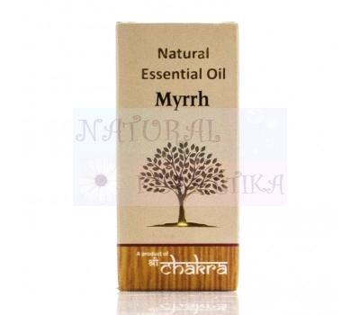 Натуральное эфирное масло, Мирра / Чакра / 10 ml