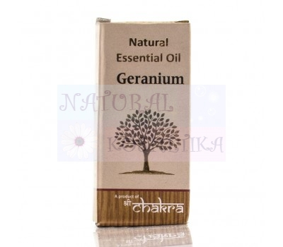 Герань Natural Essential Oil Geranium, Индия 10 мл