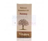 Мускатный орех Натуральное эфирное масло Nutmeg Natural Essentinal oil, Индия 10 мл