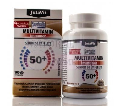 Мультивитамины 50+, Multivitamin  JutaVit, 100 таб