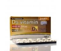 Витамин Д3- 4000NE, D-3 vitamin, JutaVit D Венгрия 100 таб