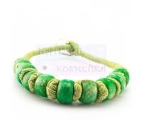 Короткое зеленое колье, чокер