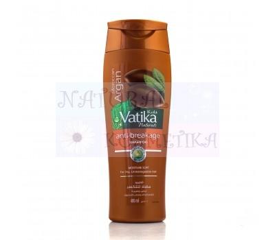 Шампунь с маслом арганы, увлажняющий, Ватика / Dabur Vatika Argan Shampoo / 400мл