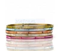 Разноцветные браслеты, 5 шт