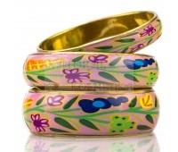 Набор милых девичьих браслетов с цветами