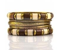 Набор индийских браслетов, 5 шт