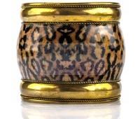Пара леопардовых браслетов