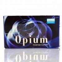 Ароматические конусы производство, Даршан, Darshan,  Opium / Опиум Индия, 10 шт в пачке