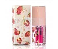 Увлажняющее масло для губ длительного действия Magic Pink с вкусом клубники, heng fang, Lip oil, 3g