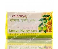 Мыло для тела, Лимон и Мед, Патанджали / Lemon Honey Kanti Soap, Patanjali / 75 gr