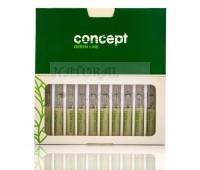 Бустер с кератиновым экстрактом Green line  Concept 10 ампул по 10 мл
