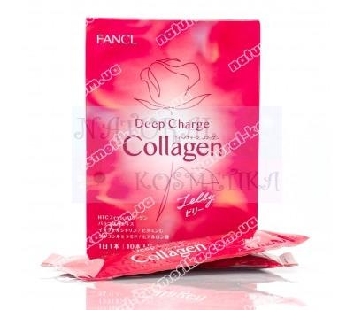 Японский коллаген Deep Charge Colagen Fancl 10 саше