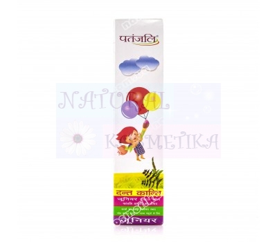 Зубная паста для детей Дант Канти / Dant Kanti Junior Dental Cream, Patanjali / 100 г