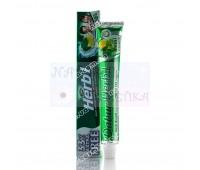Зубная паста Мята + лимон, травяная  / Dabur Herb'l Mint & lemon / 80 г