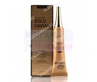 """Крем для кожи вокруг глаз """"Gold Caviar"""" -содержит коллаген, экстракт черной икры и частички чистого золота Лифтинг Sibelle 25 г."""