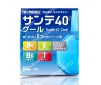 Капли для глаз для профилактики старения с охлаждающим эффектом Santen Sante 40 Cool