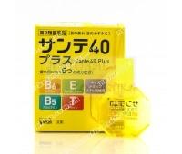 Японские глазные капли Sante 40 Plus Япония, Santen 12 мл