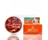 Корейские гидрогелевые патчи для кожи под глаза с томатом /Hydrogel Eye Patch Natural Tomato / 60 штук