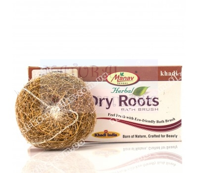Натуральная губка для душа Dry Roots / Индия