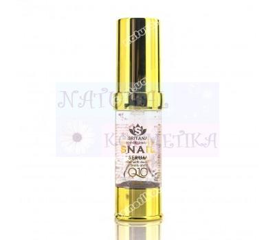 Сыворотка с улиточным муцином и Q10 / Sritana Golden Snail Serum / 20 мл