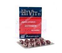 Мультивитамины, Мультиминералы HiVit 21 Medical Union Pharmaceutical 20 кап