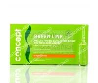 Восстанавливающий лосьон против выпадения волос Concept Green Line, 10шт х 10мл