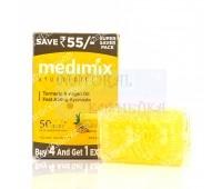 Аюрведическое мыло медимикс Куркума & Аргановое масло / Medimix Ayurvedic Turmeric Argan Oil Soap / 125 г