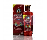 Аюрведическое масло для волос и массажа, Навратна, Химани / Hair oil, Navratna, Himani / 100 ml