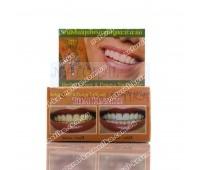 Травяная зубная паста с экстрактом папайи и гвоздикой, Herbal Clove & Papaya Toothpaste, Thai Kinaree, 25 г