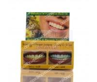Отбеливающая паста с гвоздикой и ананасом / Thai Kinaree Pineapple & Clove Herbal Toothpaste / 25 г