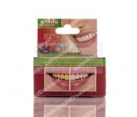 Травяная зубная паста с экстрактом кожуры мангустина / 5 Star Cosmetic / Таиланд / 25 г