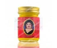 Красный разогревающий тайский бальзам с перцем чили от Hamar Osoth 50 гр