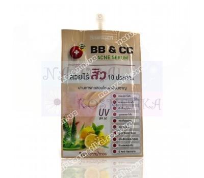 Сыворотка со свойствами бб и сс-кремов, bb&cc serum / snowgirl / 8 г