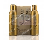 Набор Семи ди Лино, маска и шампунь / Kleral System Semi di lino Shampoo & Cream / 150 мл + 150 мл