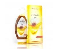 "Гель для душа ""Мед и шафран"", Патанджали / Shower gel with honey and kesar, saundarya, Patanjali / 250 мл"