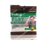 Натуральная Краска для волос 10-минутка, Индика / Indica easy hair color, Dark Brown 3 / 18 мл