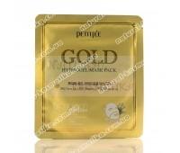Гидрогелевая маска для лица с золотом Петитфи / Gold Hydrogel Mask Pack / Petitfee / Корея / 32 г