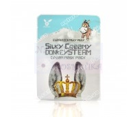 Тканевая маска для лица Milky Piggy Silky Creamy Donkey Steam Cream Mask Pack Elizavecca 25 мл
