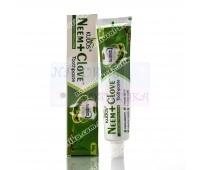 Отбеливающая зубная паста с нимом Neem + Clove Toothpaste Kudos 100 г