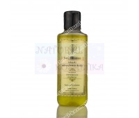 Травяной шампунь Шафран, Tулси и Ритха, Saffron Reetha Tulsi herbal shampoo, Khadi, 210 мл
