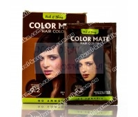 Хна травяная, коричневая, на натуральной основе, Color Mate, Natural Brown 9.2 / 15 гр