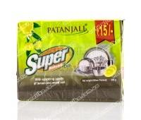 Мыло для мытья посуды Super Dishwash Bar (с лимоном и золой) Patanjali 280 г