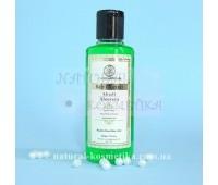 """Шампунь против зуда и перхоти """"Алоэ-Вера"""", Khadi Herbal Shampoo Aloe Vera, 210 мл"""