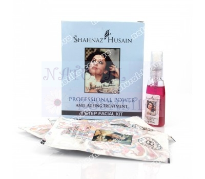 Набор Шахназ Хусейн, антивозрастной комплекс для ухода за кожей лица, семь разных средств, комплекс для ухода за лицом, Professional anti-aging complex for facial skin care, Shahnaz Husain